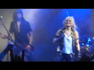 14.Breaking the Law(Judas Priest cover) - DORO live in SPb Russia 26.05.2015