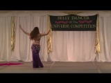 Bellydancer of the Universe Competition 2014 - Lorelei Junior Champion Long Bea
