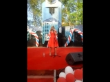 Настя Задорожная - Зачем топтать мою любовь  (70 лет победе , Москва, 09.05.15)