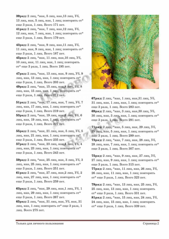 """针织披肩:玛丽亚的""""枫叶"""" - maomao - 我随心动"""