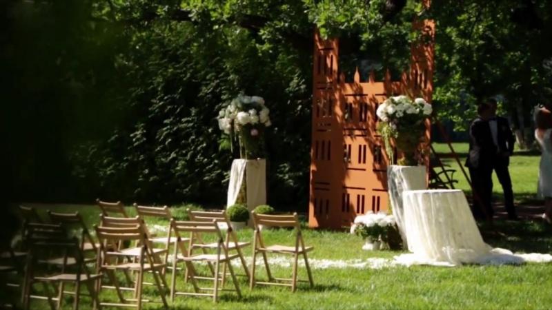 Свадьба в английском стиле. Гостиный двор 1812