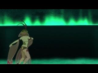Клип из аниме Гаргантия на зелёной планете _ Suisei no Gargantia (AMV)