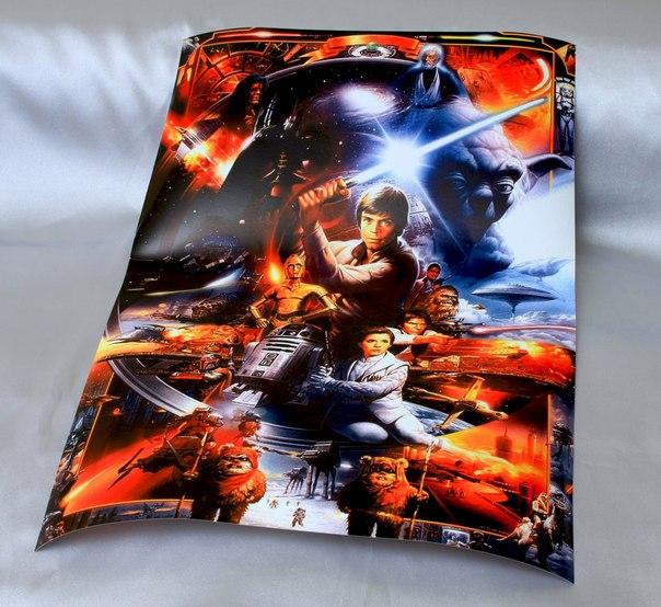 Купить постер Звездные войны