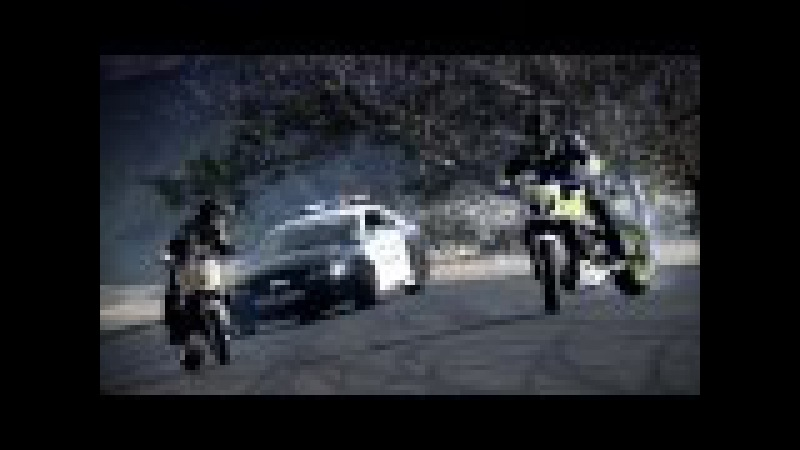 INCREDIBLE Police chase bikes, incredible drifting HD