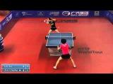 Women Final - ITTF Brazil Open 2014 - LIU Xin CHN ZHU Chaohui CHN