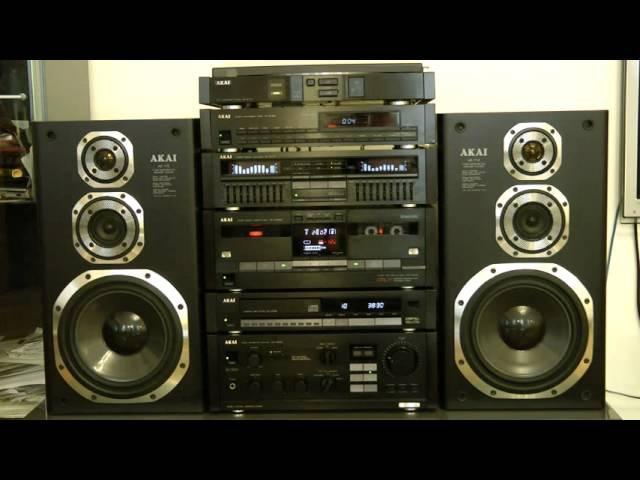 AKAI HiFi audio stereo Topline series 1988
