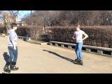 Как тормозить на роликах (Powerslide)