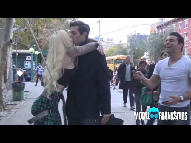 Coby Persin Badoo Dream Guy Girl Kiss Prank