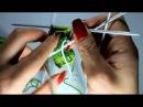 Вяжем арбузные носочки Часть 2 смена цвета