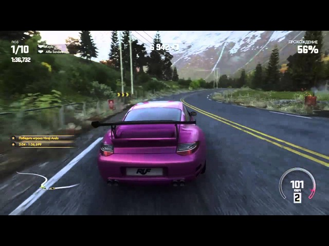 DRIVECLUB: Ruf RGT-8 Norway Spint