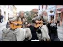 Супер песня! Хиппи поют на улице