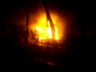 Пожар в г.Измаил ул.Болградская угол ул.Кишиневской