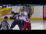 Tanner Glass vs Tyson Strachan Feb 20, 2015