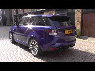 Land Rover Range Rover Sport 2015.5MY V8 S/C SVR U70375