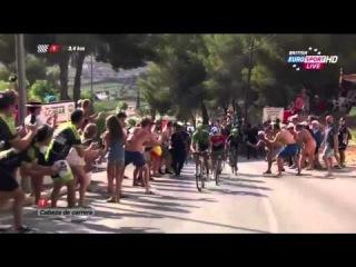 Vuelta a Espana 2015 HD - Stage 9 - FINAL KILOMETERS