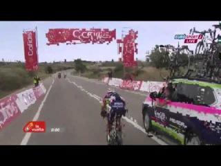 Vuelta a Espana 2015 HD - Stage 13 - FINAL KILOMETERS