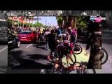 Replay of Huge Crash in Peleton - Vuelta a Espana 2015 HD