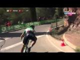 Carlos Sastre Crash Montage - Vuelta a Espana 2015