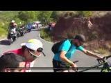 Jose Joaquin Rojas Crash Downhill - Vuelta a Espana 2015 HD