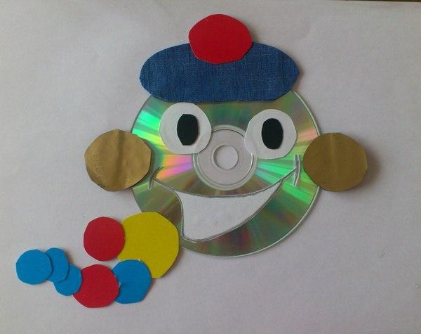 Поделки своими руками из дисков детям фото