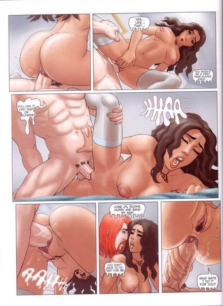 Самые лучшие порно комиксы