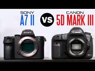 Sony A7 II Vs Canon 5D Mark iii Comparison