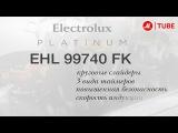 Встраиваемая индукционная панель независимая Electrolux EHI96740FK