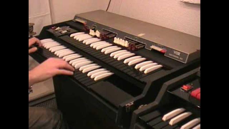 Vox | Continental Jaguar Corinthian 300 Jennings J70 organs
