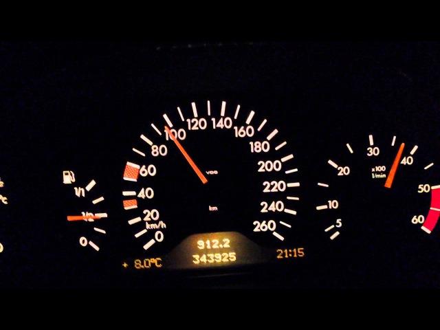 Mercedes-Benz E300TD Acceleration