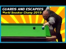 WHAT A SHOT Best Snookers and Escapes from 2015 World Snooker Championship