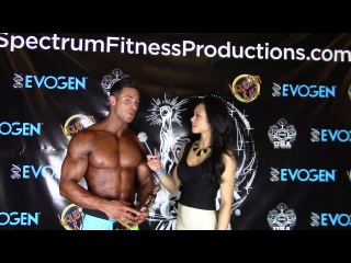 Logan Franklin 2nd Place Governor's Cup 2015 Pro Men's Physique