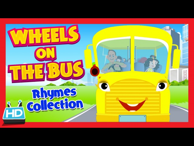 Wheels On The Bus Go Round and Round Nursery Rhymes Collection | HALLOWEEN Night songs
