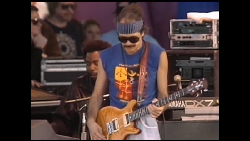 Santana - Full Concert - 11/26/89 - Watsonville High School Football Field (OFFICIAL)