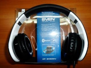 Обзор и Тест Беспроводных Наушников, Гарнитуры Bluetooth SVEN AP-B450MV - [© Техника и Электроника]