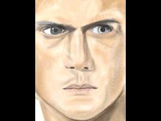 Drawing Wentworth Miller (Prison Break - Michael Scofield)