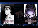 Аниме реп батлыШиничи Изуми против Канэки Кэна Shinichi vs KanekiАMV2015