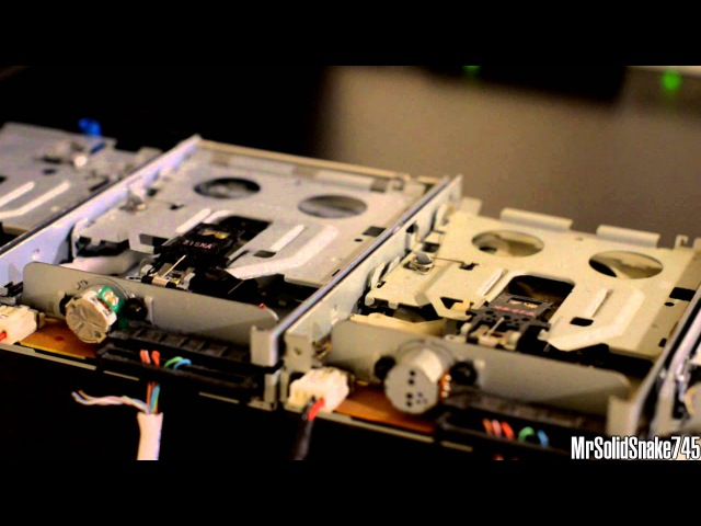 Pachelbel's Canon in D on Eight Floppy Drives