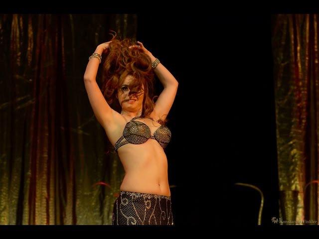 Lia Verra @ World of Orient - Drum Solo 2015 - International Belly Dance Festival - Germany