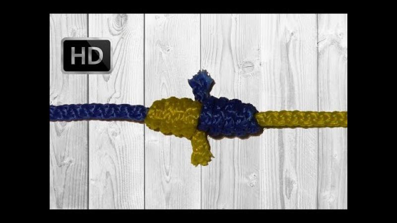 Кровавый узел (Blood knot) Как связать две лески? HD