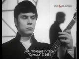 ВИА Поющие гитары Сумерки, солист Евгений Броневицкий