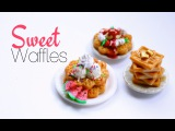 Scented Sweet Waffles - Polymer Clay Breakfast Tutorial