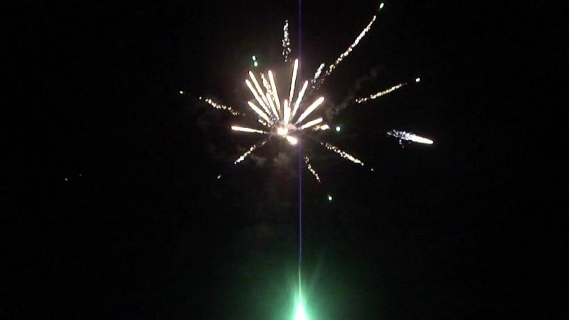 Запуск фейерверка на свадьбе 11.07.2015(PCM 20-01, PCK 25-02)