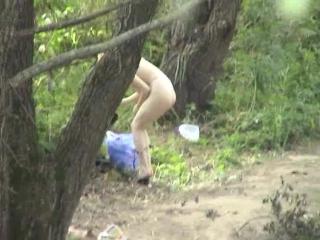 на скрытую камеру в лесу-эе2