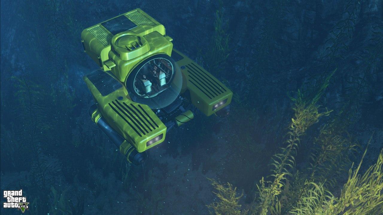 подводная лодка в гта 5 на пс4
