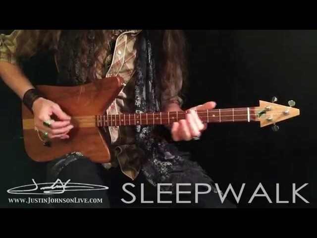 Sleepwalk by Santo and Johnny on 3-String Guitar (with TABS)