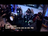Bass Masters at NAMM 2014 Steve Bailey, Victor Wooten, and an ADL 700