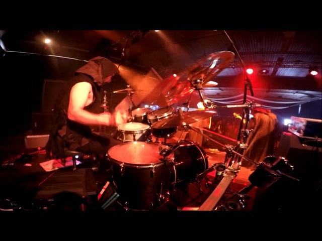 Menthor drum cam - Nightbringer - I Am the Gateway - Live @ Kings of Black Metal 2015