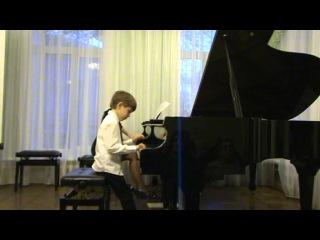 Князев Александр 6 лет Самара Финал концерта Сильванского Соль мажор