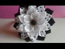 Ободок с Цветком на Первое Сентября / Headband with flower on the First of September