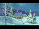 Уроки рисования Как нарисовать зиму гуашью How to Draw a Winter Scene Art School